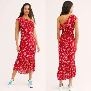 NEW Rue Stiic Westcott one shoulder dress